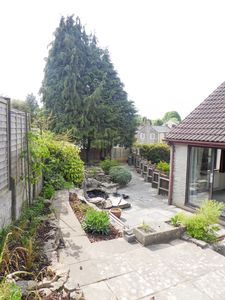 Rear Garden- click for photo gallery