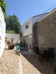 Rear Courtyard- click for photo gallery