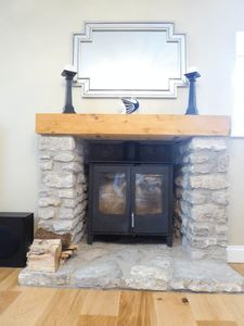 Fireplace- click for photo gallery