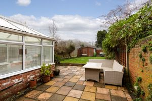 Rear Patio- click for photo gallery