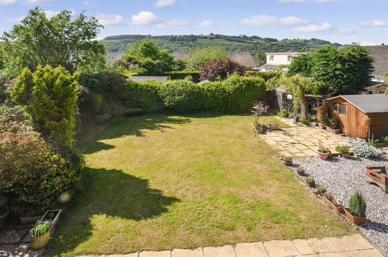 Rear Garden and View- click for photo gallery