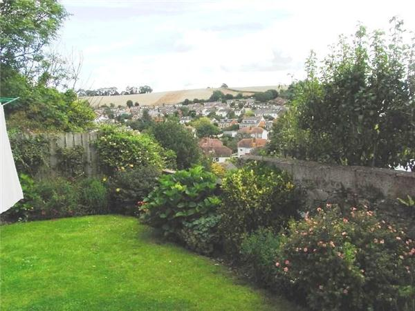 REAR GARDEN WITH VIEW- click for photo gallery