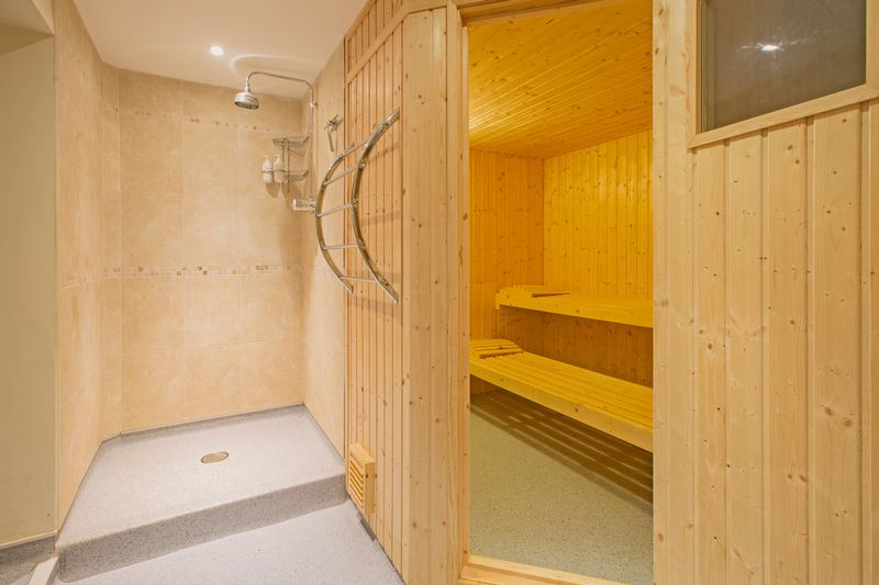 sauna/wet room- click for photo gallery