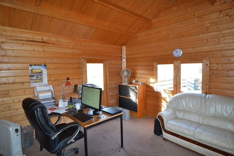 Chalet / Office- click for photo gallery