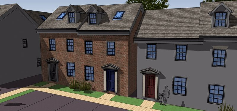 Property for sale in Plot 6, Rea View, Cleobury Mortimer, Shropshire