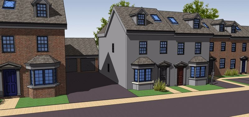 Property for sale in Plot 3 Rea View, Cleobury Mortimer, Shropshire