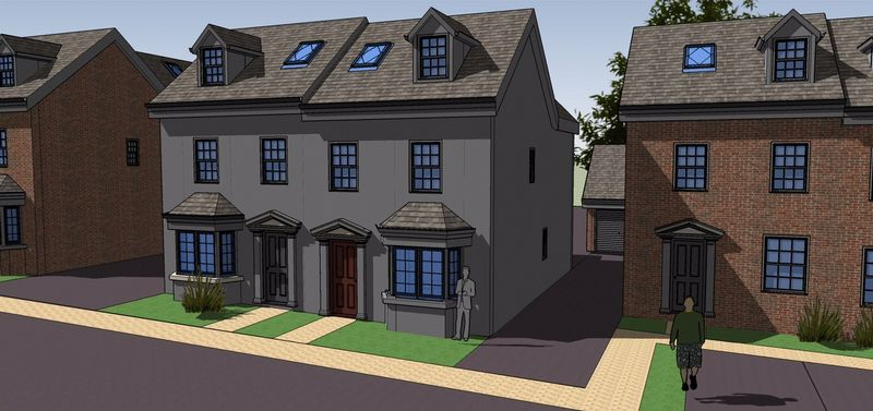 Property for sale in Plot 4, Rea View, Cleobury Mortimer, Shropshire