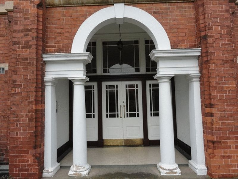 Main Entrance Door- click for photo gallery