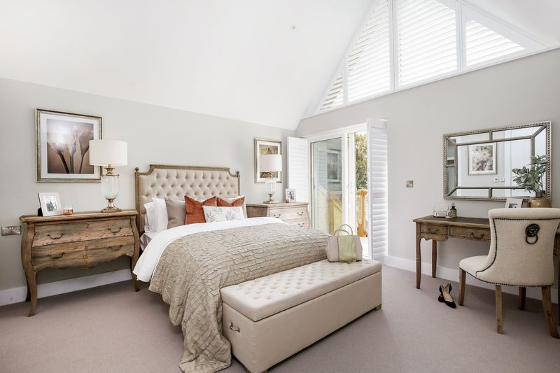 Master Bedroom- click for photo gallery